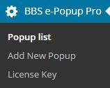Popup list11